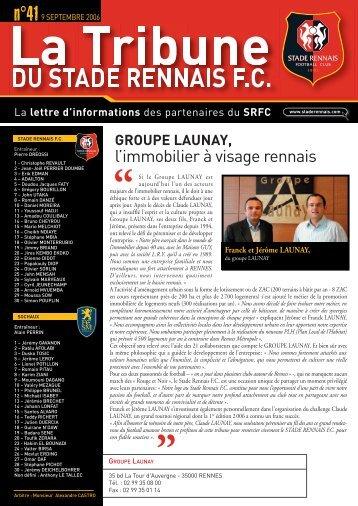 l'immobilier à visage rennais - Goodies - Stade Rennais Football Club