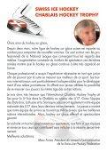 Livret de fête - International Chablais Hockey Trophy - Page 5