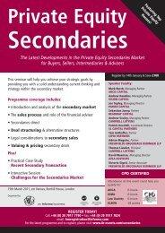 secondary market - Azla Advisors