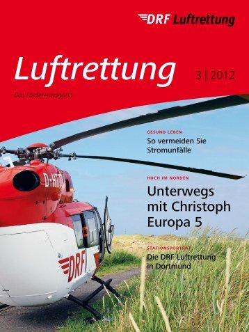 Unterwegs mit Christoph Europa 5 - DRF Luftrettung