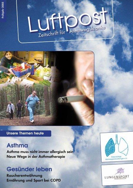 Asthma, Asthma muss nicht immer allergisch sein - Patientenliga ...