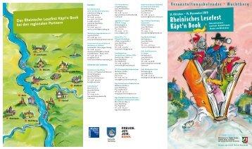 """Rheinisches Lesefest """"Käpt'n Book"""" 2010 - Gemeinde Wachtberg"""