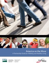 America on the Move - National Institute of Food and Agriculture ...