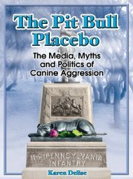 The Pit Bull Placebo: The Media, Myths and - National Canine ...
