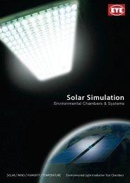 Solar Simulation - EYE Applied Optics