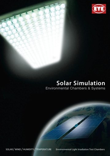 Solar Simulation - EYE Applied Optics