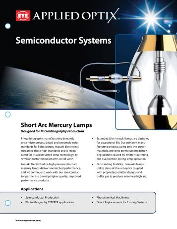 APPLIED OPTI Semiconductor Systems - EYE Applied Optics