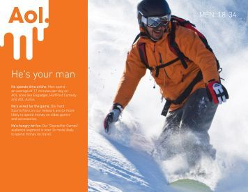 He's your man - AOL Advertising