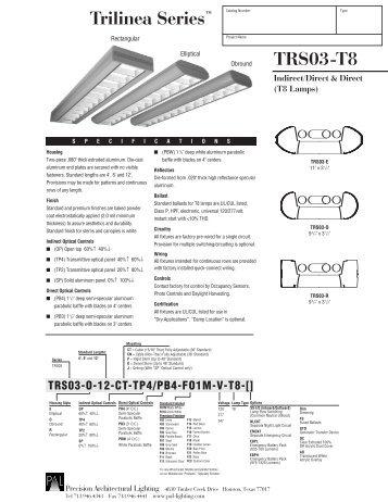 TRS03-T8 Trilinea Seriesâu201e¢ - Precision Architectural Lighting  sc 1 st  Yumpu & 1 free Magazines from PAL.LIGHTING.COM