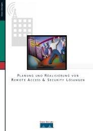 planung und realisierung von remote access & security lösungen