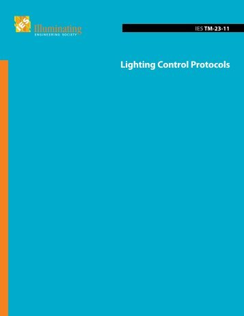 Lighting Control Protocols - Illuminating Engineering Society