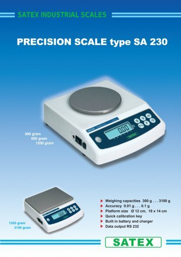 satex industrial scales