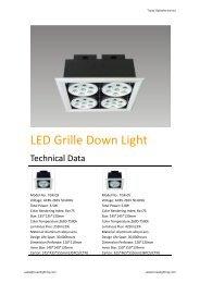 LED Grille Down Light