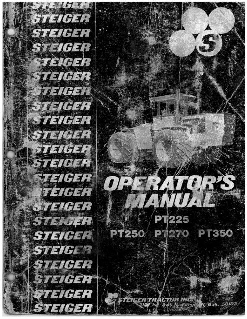Series III PT Models (10 Meg file, right - Big Tractor Parts