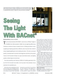 Seeing The Light With BACnet®
