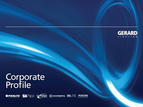 Gerard Lighting Group Limited Corporate Profile
