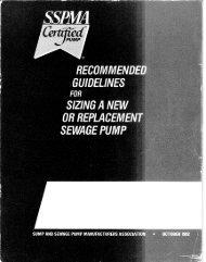Sump / Sewage Sizing Guide - Ames, Inc.