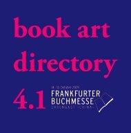 Katalog Platz der Buchkunst - BuchDruckKunst eV