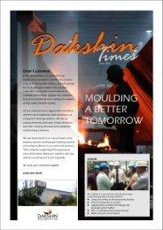 Dear Customer, - Dakshin Foundry Pvt. Ltd.