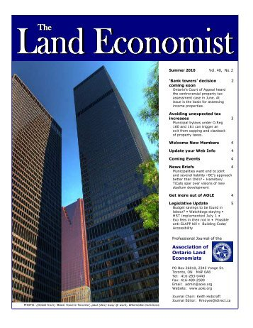 Layout-Journal-40-2-full draft - Association of Ontario Land ...