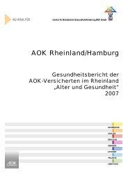 AOK Rheinland/Hamburg - Institut für Betriebliche ...