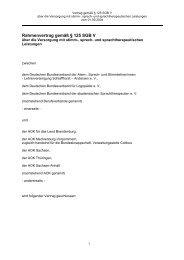 Rahmenvertrag Logopädie - AOK-Gesundheitspartner