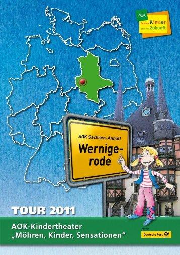 TOuRplAN 2011 - AOK-Kindertheater