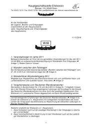 22. m a i 2011 - in t e r n a t io n a le r ta g d e r b io d iv ... - Eifelverein