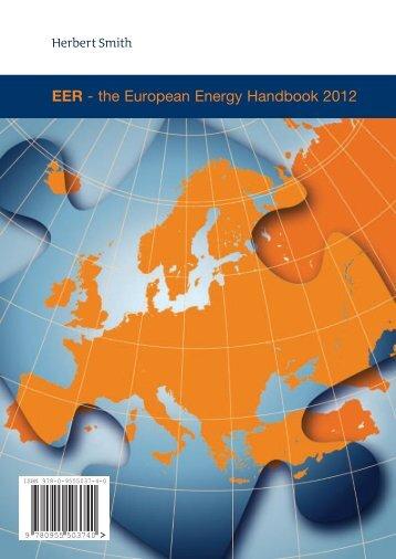 EER - the European Energy Handbook 2012 - Karanovic & Nikolic