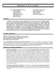 HERBERT J. DAVIS PH.D. - Texas A&M International University