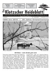 Heideblatt Nr.46 (Page 1) - Klotzscher Heideblatt
