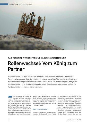 Online-Service - Dr. Angerer Marketing International