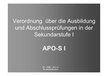 APO-S I - aragri.de