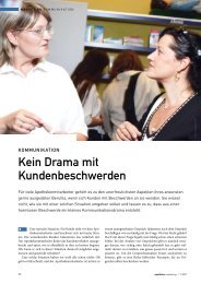 Kein Drama mit Kundenbeschwerden - Dr. Angerer Marketing ...
