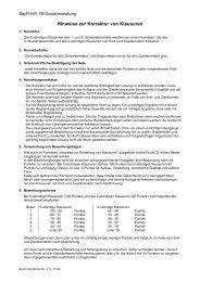 Hinweise zur Korrektur von Klausuren (25.76 kB) - FHVR Soz
