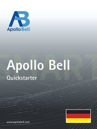 APO-10002 Quickstarter_deutsch.indd - Apollo Bell