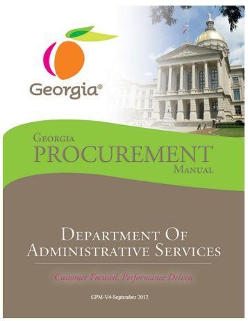 procurement manual This procurement manual has been designed to provide information about the university's purchasing requirements and procurement department the various.