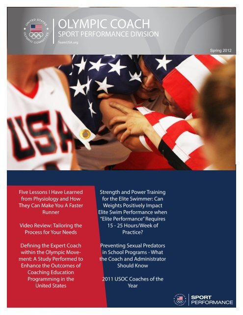 Olympic Coach Spring 2012-1.pdf - United States Olympic Committee
