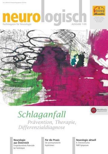 Schlaganfall - Österreichische Gesellschaft für Neurologie