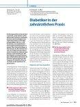 Diabetiker in der zahnärztlichen Praxis - Die Bundeszahnärztekammer - Seite 2