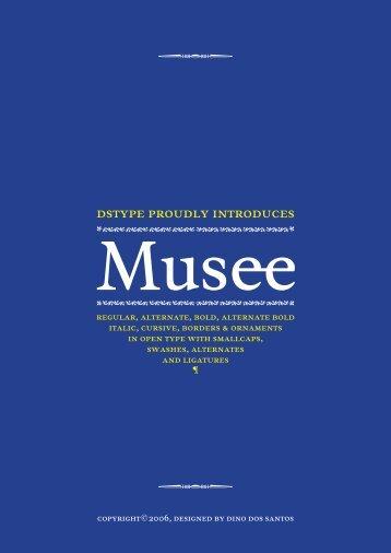 Musee Alternate - FontShop