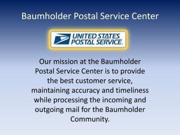 Baumholder Postal Service Center - US Army Garrison, Baumholder ...