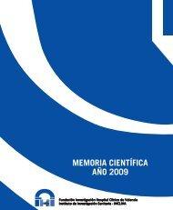 Memoria Científica INCLIVA 2009