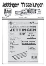 0 70 31/6 63-30 00 - Jettingen