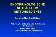 Coma diabeticum - Dr. Ingo Blank