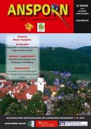 unterstützt durch: KOSTENLOS Themen dieser Ausgabe - Landkreis ...