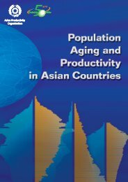 Population Aging and Productivity in Asian Countries - APO Asian ...