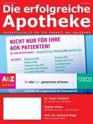 Ausgabe 07+08.2011 - Die erfolgreiche Apotheke