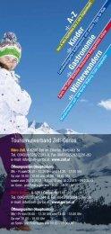 Winterinfo Zell Gerlos - Zillertal Arena