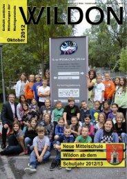 Hier können Sie die Gemeindezeitung von Oktober 2012 - Wildon